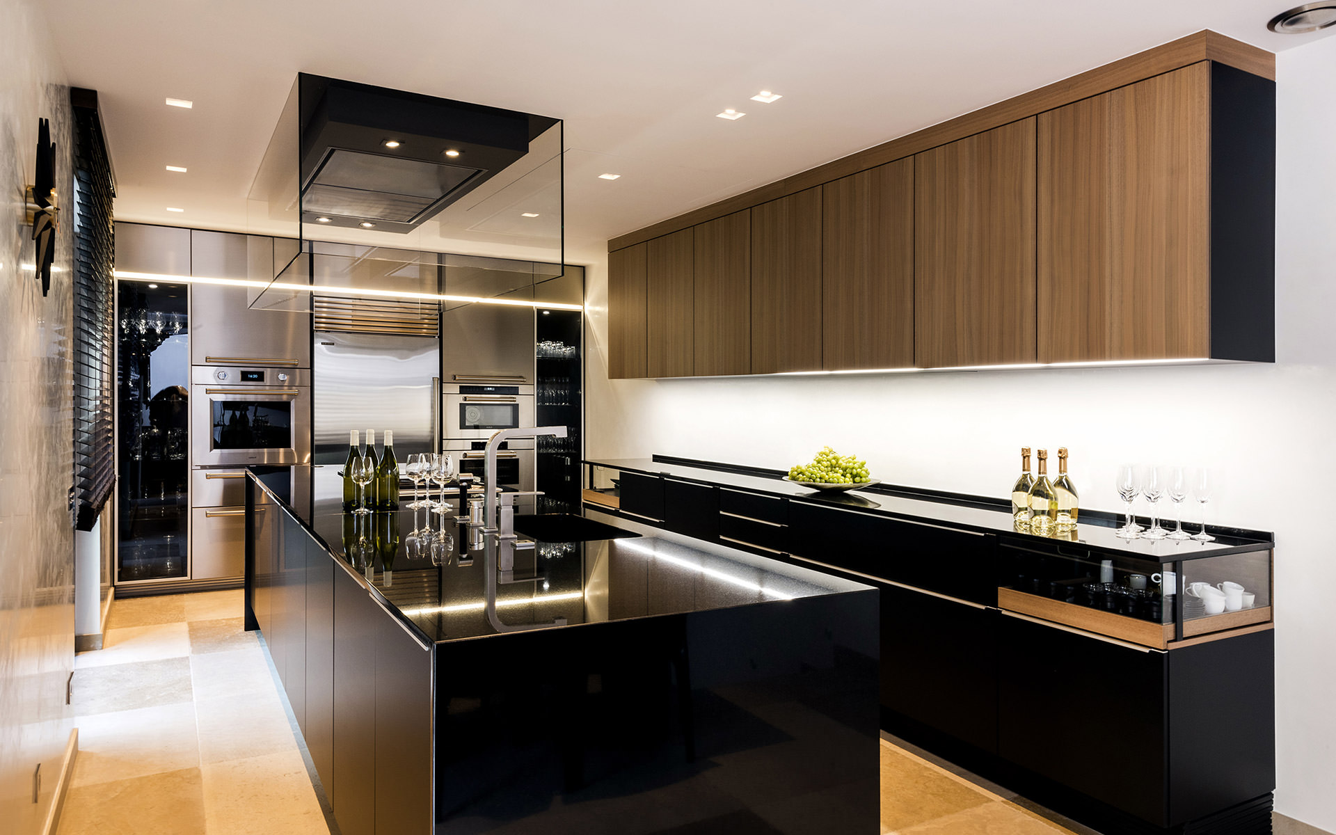 Cuisine contemporaine luxe